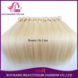 Top Quality Brazilian Blond Hair Keration Hair, U-Tip, I-Tip, Nail Hair, Flat Tip Hair Extension pictures & photos
