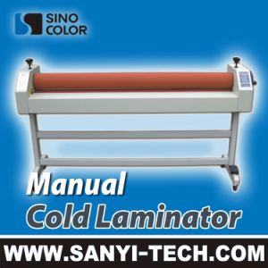 Manual Cold Roll Laminator 1600 pictures & photos