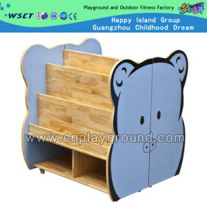 Cute Cartoon Cabinet Wooden Cabinet Children Toy Furniture (HC-3706) pictures & photos