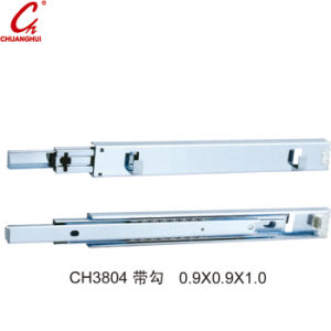 Furniture Fitting TV Slide Soft Closing Under Mounted Slider (CH3804) pictures & photos