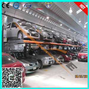 2017 Hydraulic Lifting Car Parking Lift Approved by TUV pictures & photos