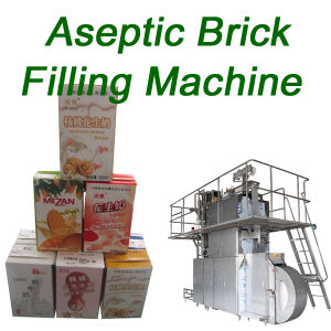 Aseptic Carton Brick Filling Machine Packing Filler Beverage pictures & photos