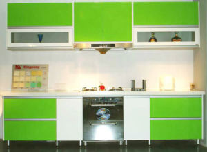 Popular Lacquer Kitchen Cupboard Design (AGK-032)