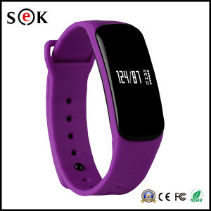 Sek Newest Blood Oxygen Pressure Fitness Bracelet with Heart Rate Bluetooth Smart Wristband for Christmas Gift pictures & photos