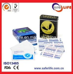 Band Aid with Tin Box Medical Plaster for Promotion pictures & photos