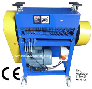 Scrap Wire Stripping Machine (Dia. 2-45mm cables, Patent No. 201120531538) pictures & photos