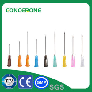 Disposable 18-30g Injection Syringe Needles pictures & photos