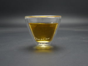 20ml Transparent Double Wall Glass Tea Cup, Double Wall Glass Cup