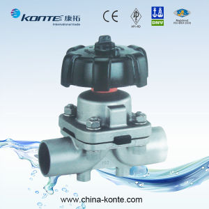 Manual Welding/Welded Diaphragm Valve pictures & photos