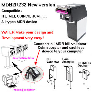 Mdb Bill Acceptor Adapter to PC for Computer Vending Machine pictures & photos