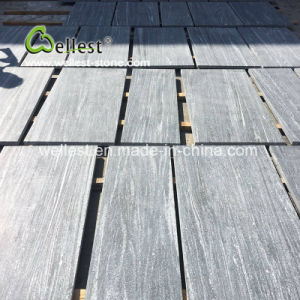 Grey Nero Santiago Floor Tile / Flamed Floor Tile/ Grey Nero Granite Tile pictures & photos