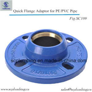 Ductile Iron Grooved Quick Flange Adaptor