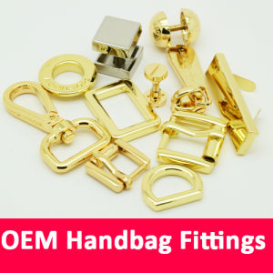 Luxury Bag Metal Fittings for Leather Handbag