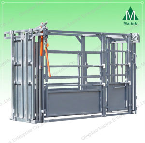 Powder Coated Cattle Squeeze Chute pictures & photos