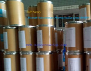 GMP Supplier Pharmaceutical Grade Bp Bismuth Subcarbonate pictures & photos
