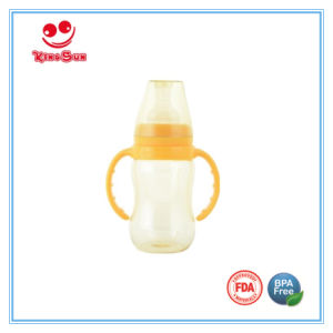BPA Free Standard Neck PPSU Baby Bottles with Soft Nipple pictures & photos