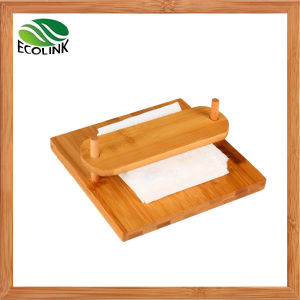 Bamboo Tissue Dispenser Paper Holder pictures & photos
