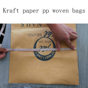 Kraft Paper Bags PP Woven Bag pictures & photos
