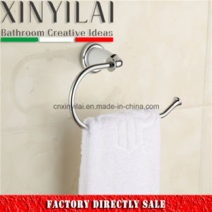 White Cover Chrome Towel Holder for Hotel Bathroom Accessories pictures & photos