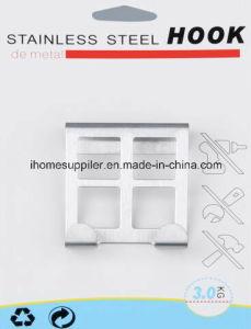 H1006 Stainless Steel Over Door Hook Hanging Hook Load 3.0kgs