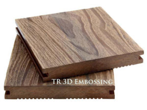 Wood Grain Surface WPC Decking