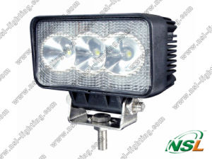 9W LED Work Light for Working Lamp 10-30V off Road Tractor LED Working Light pictures & photos
