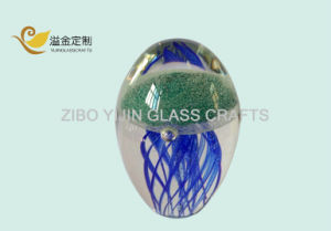 Wholesale Glass Jellyfish Paperweight