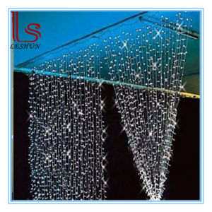 Hot Sale 3 * 3 M 300 Christmas Lights String LED Curtain Light Wedding Holiday Rice Lights String pictures & photos