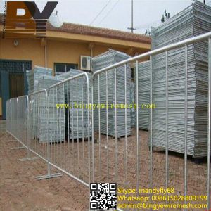High Quality Removable Barriers Crowd Control Barrier pictures & photos