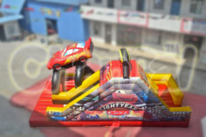 2014 Inflatable Red Car Slide Chsl318 pictures & photos
