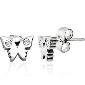 2013 Summer New Arrival Simples Fashion Stainless Steel Owl Cute Earring for Girl′s Ear Ring Jewelry (RD-JSR0085)