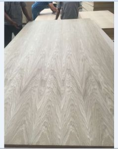 Factory-Natural White Oak 0.50mm Fancy Plywood 4.8mm Sale in Mexico pictures & photos