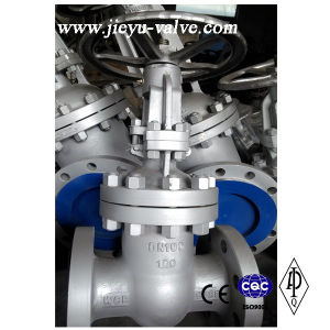 Pn100 Dn100 CS C Ast Steel Flanged Gate Valve pictures & photos