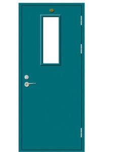 Steel Fire Door/Fireproofing Steel Door/30 60 90mins BS Tested/UL Certified with Vision Glass pictures & photos