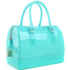 Hot Sale Candy Color Silicone Rubber Handbag Bag pictures & photos