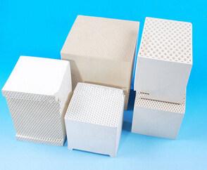 Dense Cordierite Heater Ceramic Honeycomb Monolith for Rto pictures & photos