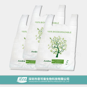Compostable and Biodegradable Green Bag