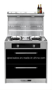 Integrated Cooker with Double Gas Stove (JCJZ-75A) pictures & photos
