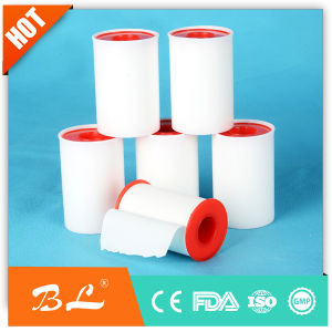 Zinc Oxide Plaster Medical Ahdesive Plaster with Plastic Spool Packing pictures & photos