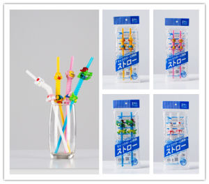 New Style Lovely Animal Creative Plastic Drinking Straws pictures & photos