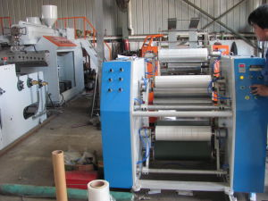Ftrw-500 Stretch Wrap Film Rewinding and Slitting Machine pictures & photos