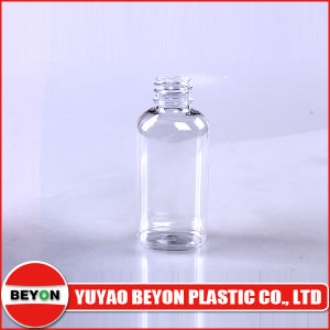 50ml Plastic Pet Oval Transparent Cosmetic Bottle with SGS Certification (ZY01-A002A) pictures & photos