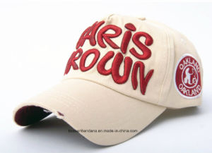 Factory Supply Customized Logo Embroidered Promotional Cotton Sports Baseball Cap pictures & photos