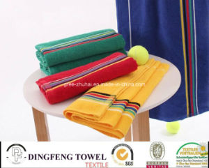 100% Cotton Jacquard Sport Tennis Towel Df-7892 pictures & photos