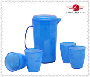 Plastic Jug and Mug Set (LFR1218) pictures & photos