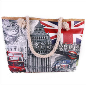 European and American Landscape Canvas Bag pictures & photos