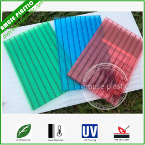 Easy Installed Polycarbonate Rooding Plates PC Corrugated Solid Hollow Sheet Supplier pictures & photos