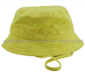 Metal Eyelets Cotton Twill Leisure Fishing Bucket Hat (TMBH9463) pictures & photos