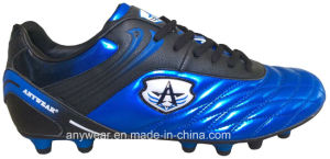 Soccer Football Boots with TPU Outsole for Men Shoes (815-9509) pictures & photos