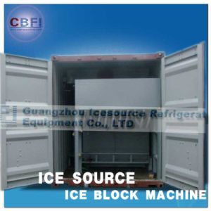 Vehicle Installed CE Certification Commercial Containerized Block Ice Maker pictures & photos